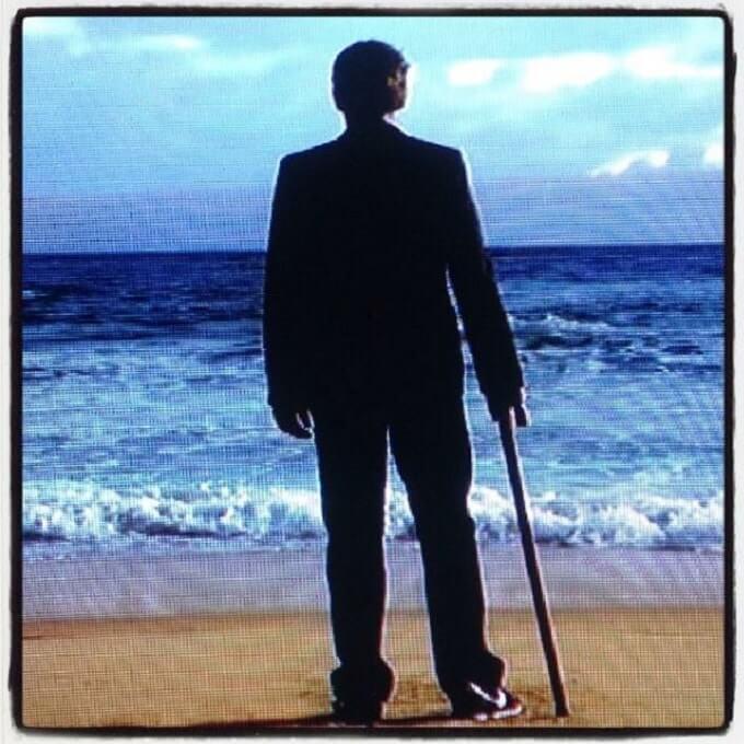Dr House sulla spiaggia