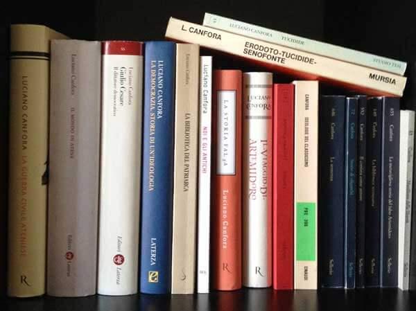 i miei libri di Luciano Canfora