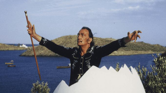 """Un'immagine tratta dal docu-film """"Salvador Dalí. La ricerca dell'immortalità"""" di David Pujol"""