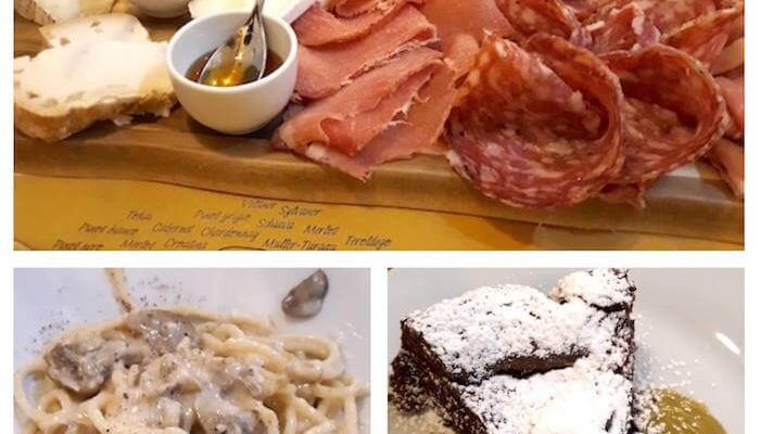 Cena al ristorante Al Venticinque di Milano