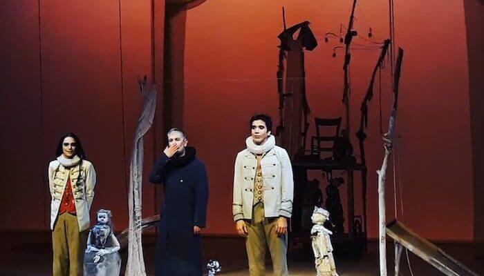 """Ferdinando Bruni ne """"La tempesta di Shakespeare"""""""